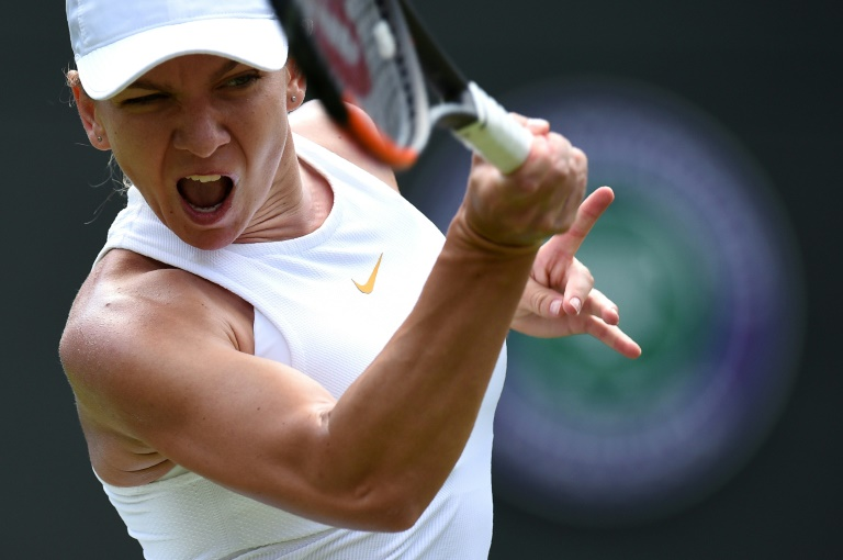 simona halep  her number one ranking secure and a grand